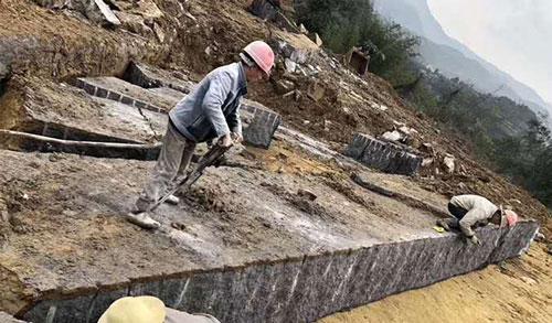 中国黑矿山展示